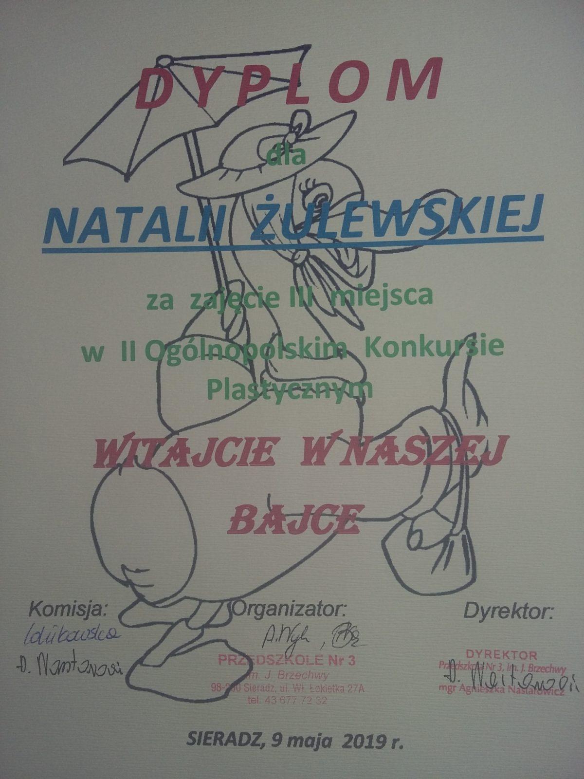 Ogólnopolski Konkurs Plastyczny Witajcie W Naszej Bajce
